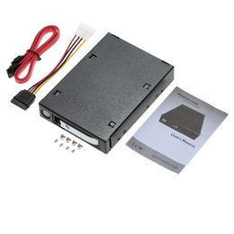 "Wholesale Hot Box Disk - Wholesale- 2.5""SATA SAS III hard drive enclosure hdd ssd caddy hard disk box optibay case hd external Docking Station Hot Swap for Laptop"