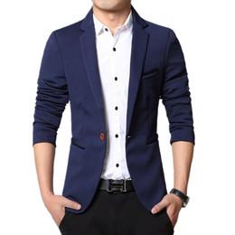 Wholesale Cheap Blazers Jackets - Wholesale- Super cheap ! 2016 new arrival Men's Casual Slim Stylish fit One Button Suit Blazer Coat Jackets
