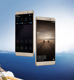 Wholesale Unlock Ship Cellphone - Free shipping Mate 9 6.0 inch MTK6580 4G Quad core high-definition picture to unlock the phone Android 6.0 1GB memory 8GROM smart cellphone