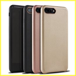 Wholesale Gold Bag Ring - Luxury High-End Business Leather Metal Ring For Iphone7 Iphone 6s Protective Anti-Drop Case With Retail Bag Via DHL Free Shipping
