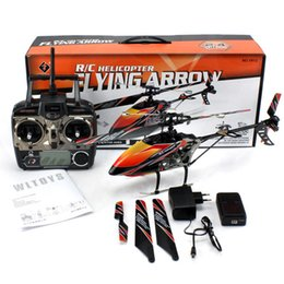 Wholesale Control Aeromodelling - rc Helicopter Wl toy v912 2.4g 4ch , outdoor Single-propeller helicopter, remote control Aeromodelling