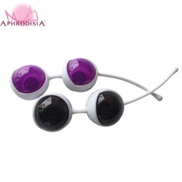 Wholesale vagina training toys - Wholesale- Kegel Ball Vagina Excerciser Vaginal Trainer Smart Love ball Sex Ben Wa Balls Pussy Muscle Training Vibrator Sex Toys