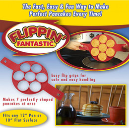 Wholesale Easy Egg - Flippin Fantastic Fast Easy Way to Make Perfect Pancakes Egg Ring Maker Nonstick Pancake Maker Baking Moulds Mold
