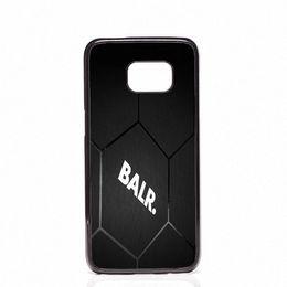 Wholesale S4 Carbon Cover - BALR carbon Logo Phone Covers Shells Hard Plastic Cases For Samsung Galaxy S4 S5 MINI S6 S7 edge S8 S8 Plus