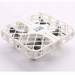Wholesale Rc Remote Control Ufo - Mini Square 4CH UFO Nets Drones Remote Control RC Helicopters 777-382 Pocket Quadcopter Quad Copter Toys VS SYMA X5C X5SW X8C X8W