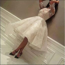 2019 designers árabes vestidos de noite Nova Chegada Lace Mangas Metade Vestido de Baile Barato Árabe Designer de Moda Formal Evening Party Gown Custom Made Plus Size desconto designers árabes vestidos de noite