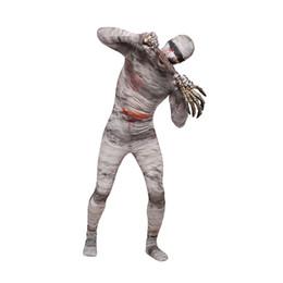 Cosplay múmia on-line-Mummy Unisex Lycra Spandex Elegante Multicolor Zentai ternos Cosplay Costume Carnivale Halloween