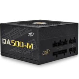 Wholesale Atx Pin - DEEPCOOL 500W 100~240VAC input full modular ATX PC PSU power supply unit DA500-M