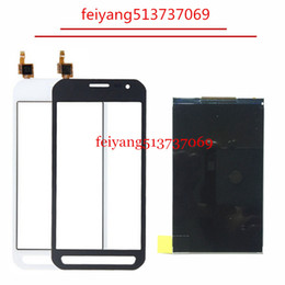 Wholesale Touch Screen Digitizer Glass Panel - 1Set For Samsung Galaxy Xcover 3 SM-G388F G388 G388F Touch Screen Digitizer Glass Sensor + LCD Display Panel