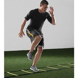 2019 geschwindigkeits-agility-training BEST FOR SPORTS Robuste, flache 8-Sprossen-4M-Beweglichkeitsleiter für Speed Soccer Fußball-Fitness-Fußtraining günstig geschwindigkeits-agility-training