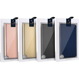 Wholesale Iphone Filp Cases - For IPhone 8 7 6 6s Plus Ultra Thin TPU Kickstand Filp Cover Card Slots Wallet Case For Samsung Note 8 S8 plus Moto E4 With Retail Package