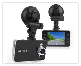 Wholesale Video Tft - Free shipping K6000 Car Camera Car Video Recorder FHD 1920*1080P 25FPS 2.4inch TFT Screen with G-sensor Registrator Car DVR