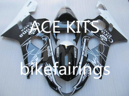 Wholesale Buy Fairings - New ABS motorcycle Fairing Kits 100% Fit For Suzuki GSXR600 GSXR750 2004 2005 600 750 04 05 K4 bodywork set hot buy black and White WQ5