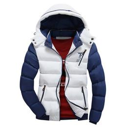 Wholesale Handsome Man Coat - Wholesale- New 2017 Brand Winter Jacket Men Warm Down Jacket Casual Parka Men padded Winter Jacket Casual Handsome Winter Coat Men