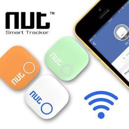Wholesale Smart Vehicles Key - Latest Nut 2 Anti Lost Reminder Wireless Bluetooth 4.0 GPS tracker Smart finder Tag Key Finder Alarm Bag Wallet Locator Activity Trackers