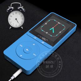 Wholesale Digital Watch Radio - Wholesale- Ruizu X20 Lossless Portable Digital Hifi Flac Audio Sport Mp 3 Mini Music Mp3 Player With Headphone Screen Radio FM 16GB Running
