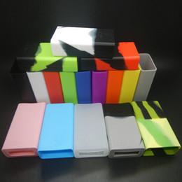 X cube mini on-line-Colorufl Xcube Mini Capa De Silicone Manga Capa Protetora para X cubo Mini TC Bateria 75 watt Controle de Temperatura Mod DHL Livre