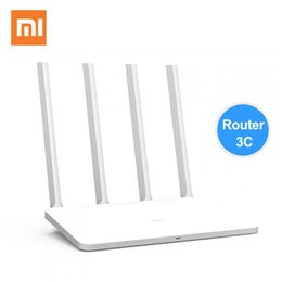 Wholesale Mi Fi Router - Original Xiaomi Router 3C English Version Mi Wifi Repeater 300Mbps 2.4GHz Wireless Routers Repetidor Wi-Fi Roteador APP Control