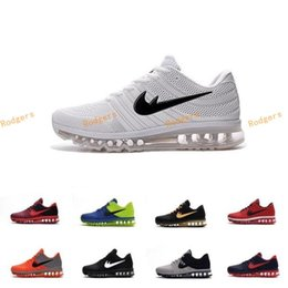 Wholesale Cheap Wrestling Shoes For Men - Cheap maxs 2017 Men running shoes Hot selling Original quality maxes 2017 KPU cushion sneaker for mens Newest release sneaker 40-47
