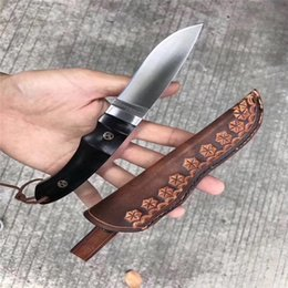 Wholesale Magnum Knives - Newer MAGNUM-BOKER knife 440A 58HRC outdoor survival camping hunting wild gift knife 1pcs free shipping