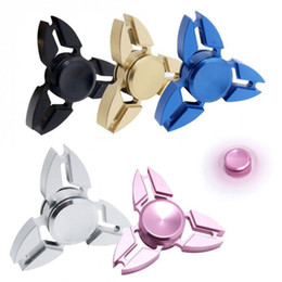 Wholesale Vehicle Toys Wholesale - HandSpinner Triangle Torqbar Finger Toy EDC Focus ADHD Autism Finger Toys For Fidget Spinner With Retail Package OTH432