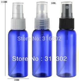 Wholesale Cobalt Perfume - 50ml Cobalt blue plastic bottle,50ml mist sprayer bottle,perfume sprayer container,atomizer,perfume package