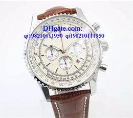 2019 diamante para anal Relógios de luxo Caixa grátis Diamond Bezel Milky Dial 50mm Relógio de pulso de homem Platinum Skeleton Full Stainless Steel Bracelet Cronômetro Anal diamante para anal barato