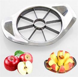 Wholesale Processing Metal - Stainless Steel Apple Slicer Vegetable Fruit Apple Pear Cutter Slicer Processing Kitchen Slicing Knives Utensil Tool 50 Pcs