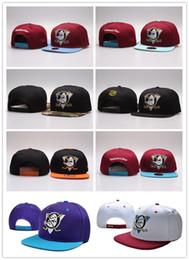 Anaheim mächtige enten hut online-NEU Vegas Golden Knights Mighty Hockey Hysteresenhüte Anaheim Ducks Knochenkappe Flat Fashion nhl Hüte Sport Günstige Herren Damen Baseball Caps