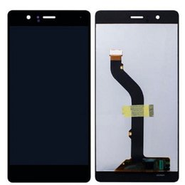 Wholesale huawei free shipping - New For Huawei P9 Standard LCD Display Touch Screen Digitizer +Frame Replacement with dhl shipping free