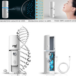 Wholesale Intelligent Skin - Wholesale- USB Rechargeable Intelligent Moisturizing Hydrating Nano Ion Cold Spray Humidifier Face Beauty Instrument Sauna Spa Sprayer Skin