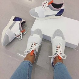 Wholesale Cheap Black High Top Shoes - Cheap Sell High Quality Paris Famous Brand Casual Shoes Kanye West Men Women Fashion Low-Top Sneakers Genuine Leather Designer Mens Shoes