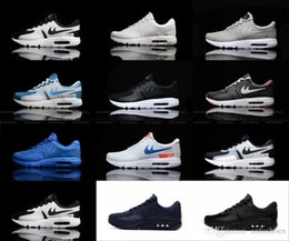 Wholesale Max Sneakers For Men - Wholesale 2017 Max Zero QS 87 Running Shoes For Men Women High Quality Fashion Trainers Mens Woman Maxes 87 Sports Sneakers Size 36-46