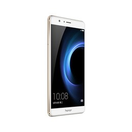 "Wholesale V8 Video Camera - Original Huawei Honor V8 Mobile Phone Kirin Octa Core 4GB RAM 32GB ROM Android 6.0 5.7"" 2.5D Glass Dual Lens 12.0MP Fingerprint Cell Phone"