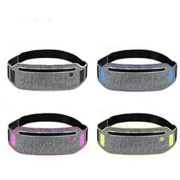 Wholesale Thin Waist Pack - Ultra Thin Waterproof Outdoor Sport Running Jogging Fanny Waist Pack Bag Belt Hip Bum Pouch Chest Bag
