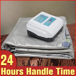 Wholesale Sauna Infrared Slimming - Pain Remove Three Sections Detox & Toxin Remove Infrared Slimming Sauna Blanket Slimming Beauty Equipment For Blood Circulation Improvement