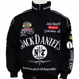 Wholesale Mens Suits Xxl - Hot Selling 2017 New F1 Racing Suit Jack Daniel Jackets Fall And Winter Clothes Mens Long-sleeved Jacket Motorcycle jacket Drop Shipping