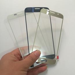2019 samsung galaxy s6 reemplazo de cristal de pantalla Reemplazo de la lente de cristal de la pantalla táctil externa del OEM para Samsung Galaxy S6 G920F S7 G930F Nota 5 N920f envío gratis samsung galaxy s6 reemplazo de cristal de pantalla baratos