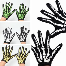 Wholesale Normal Dresses For Women - High quality Halloween Fancy Dress Gloves Cosplay Gloves For Party Carnival Masquerade Easter Gloves 1000pairs CC575