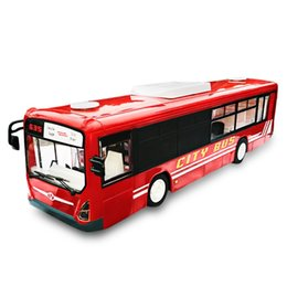 Wholesale Electric Motor Door - Wholesale- Double E E635 - 001 1:14 2.4GHz 4CH RC Bus RTR Realistic Sound   Door Opening Closing Effect