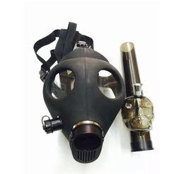 Canada Masque de gaz de pipe à eau de silicone de bang noir Bongs acryliques de rig de Dab Rig de silicone pour le tuyau sec de shisha d'herbe supplier mask water pipes Offre