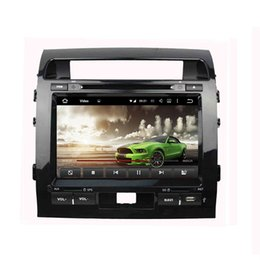 Wholesale Dvd For Toyota Land Cruiser - High quality 9inch Android Car DVD player for Toyota Land Cruiser with GPS,Steering Wheel Control,Bluetooth, Radio