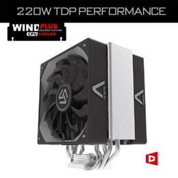 Wholesale 775 Fan - Wholesale- ALSEYE CPU cooler, 4 Heatpipes Dual 4pin PWM 120mm fan TDP 220W Heatsink fan radiator for LGA 2011 1366 775 115X AM2+ AM3+