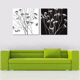 Shop paint large flowers oil uk paint large flowers oil free 4 pcs hot black and white flower oil painting on the wall art canvas pictures for living room unframed large hd modular pictures mightylinksfo
