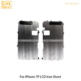 Wholesale Iron Replacement - 5pcs lot For iphone 7G 7Plus LCD Screen Iron Metal Frame for LCD Iron Sheet Display Plate Bracket Iron Replacement Repair Parts