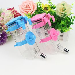 Wholesale Drink Cage - Rolling Ball Type Dogs Water Dispenser High Quality Dog Cage Suspension Drink Appliances Feeder Utensils Bowl Hot Sell 7dg J R