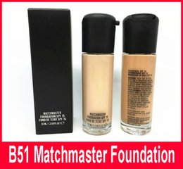 Wholesale M Powder - HOT Makeup matchmaster Foundation Liquid M brand NC Natural Sun Protection Long Wear Face Concealer Makeup Foundation 35ML High quality