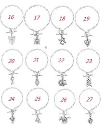 Wholesale Wholesale Locket Bracelet - New Love Wish Pearl Cages Locket Bracelets Hollow Out Oyster Charm Bracelets (Excluding Pearl Canned) Freshwater Pearl DIY Fashion Jewelry
