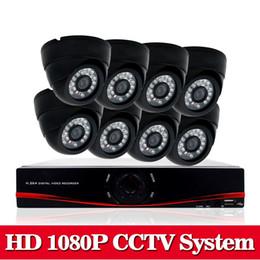 8CH AHD-NH 2.0MP HD 1080P cámara domo de seguridad Kit de sistema CCTV 16 canales de video vigilancia 1080P DVR NVR sistema usb 3g wifi desde fabricantes