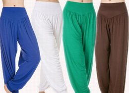 Wholesale Belly Dance Bloomers - Modal bloomers Convergent plaza belly dancing pants Big SIZEs yoga pant loose dance practice pants
